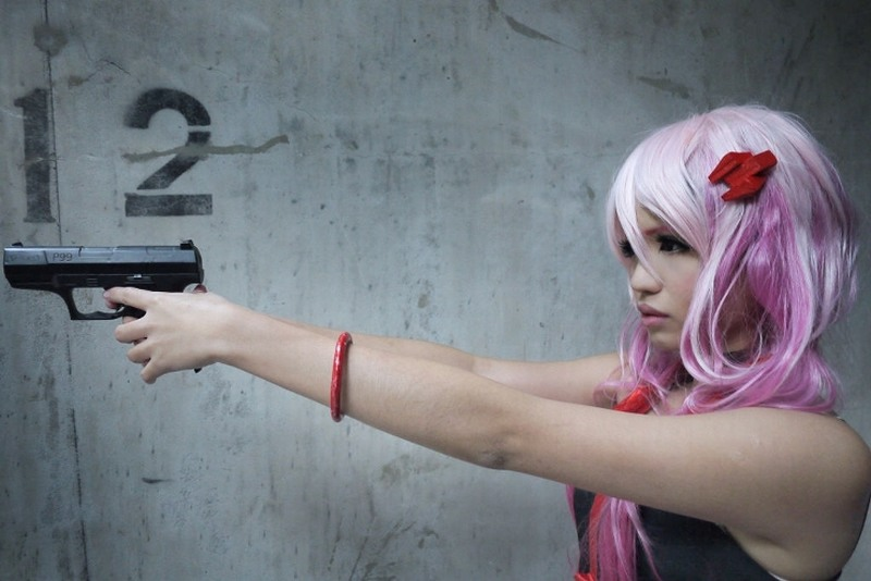 yuzuriha_inori из guilty_crown косплеит YUELAN